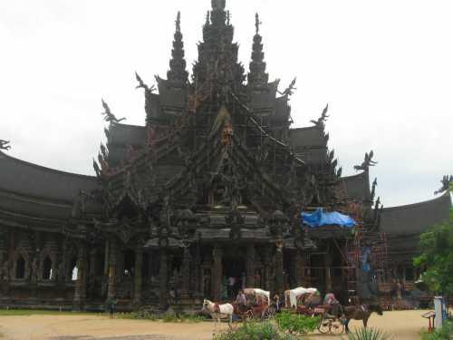 храм истины в паттайе, таиланд: фото, как добраться и советы